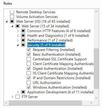 IIS IP Security Screen Shot